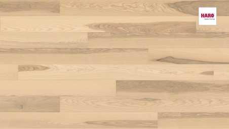 Trisluoksnė parketlentė Haro Plank Uosis Light White Universal 2V