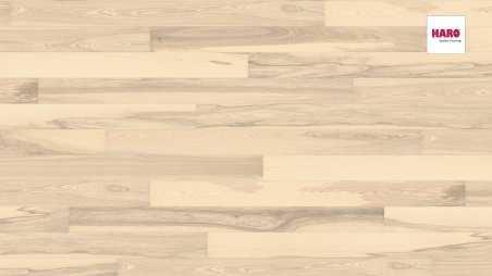 Trisluoksnė parketlentė Haro Plank Uosis Sand White Universal 2V
