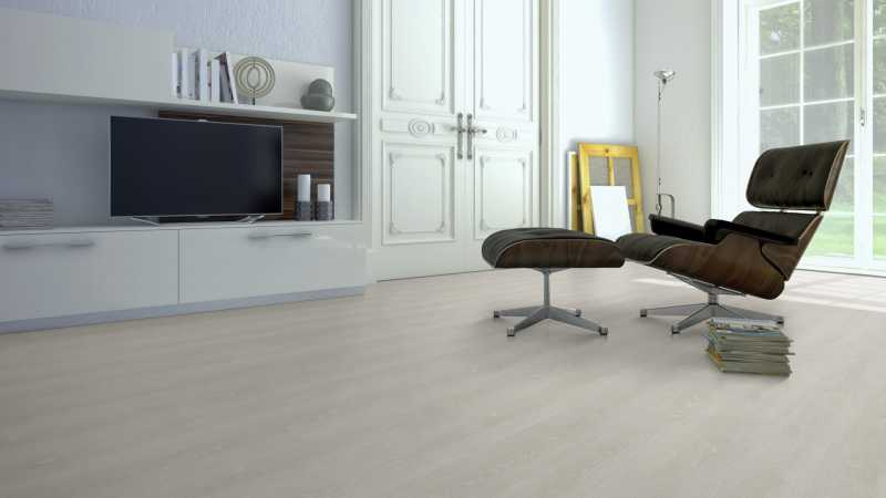 Vinilo danga One Flor ECOCLICK 30 PLANKS Ąžuolas Classic Natural Beige 4 MM