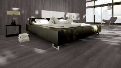 Vinilo danga One Flor ECOCLICK 30 PLANKS Ąžuolas Golden Dark Grey 4 MM