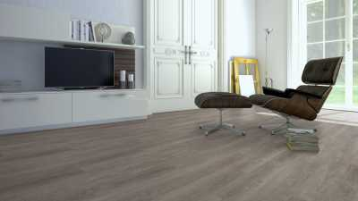 Vinilo danga One Flor ECO 30 PLANKS Ąžuolas Vintage Grey 2 MM