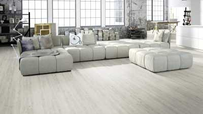 Vinilo danga One Flor ECO 55 PLANKS Ąžuolas Rustic White 2.5 MM