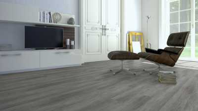 Vinilo danga One Flor ECO 55 PLANKS Ąžuolas Mountain Grey 2.5 MM
