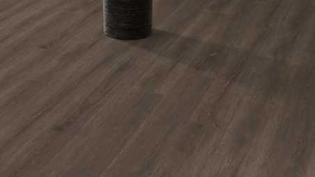 Vinilo danga One Flor ECO 55 PLANKS Ąžuolas Scarlet Dark Natural 2.5 MM