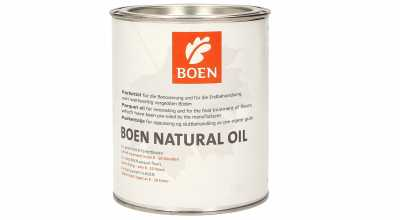 Alyva medinėms grindims Boen Natural Oil, 2.5 L nuotrauka