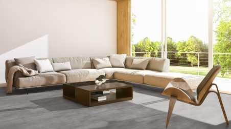 Vinilo danga One Flor SOLIDECLICK 30 TILES Origin Concrete Natural 4.5 MM