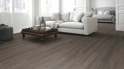 Vinilo danga One Flor RIGID 55 Planks Ąžuolas Elegant Taupe 5 MM