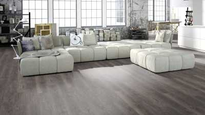 Vinilo danga One Flor RIGID 55 Planks Ąžuolas Spanish Taupe 5 MM