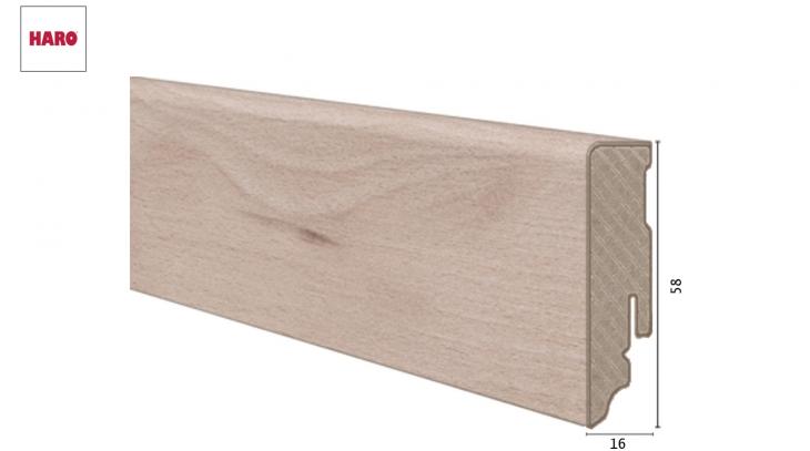 Laminuota grindjuostė Haro Design Wood Harmony 16*58 MM