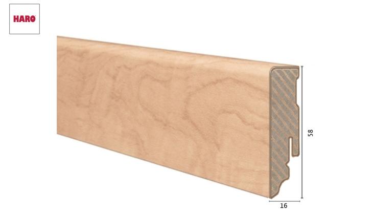 Laminuota grindjuostė Haro Obelis Sycamore 16*58 MM