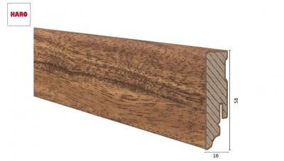 Laminuota grindjuostė Haro Iroko 16*58 MM