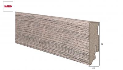 Laminuota grindjuostė Haro Chestnut Impresso 16*58 MM