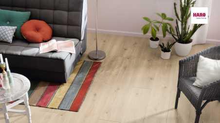 Laminuotos grindys Haro Tritty 200 Aqua Ąžuolas Contura Stone Grey