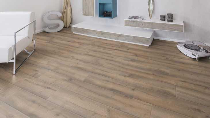 Laminuotos grindys Kaindl AQUApro Supreme 12.0 Standard (HB) Historic Earth