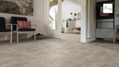 Design grindų danga Haro Disano Classic Aqua Piazza Betonas Brut Breige