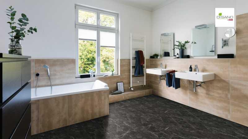 Design grindų danga Haro Disano Classic Aqua Piazza Antracitas Marble