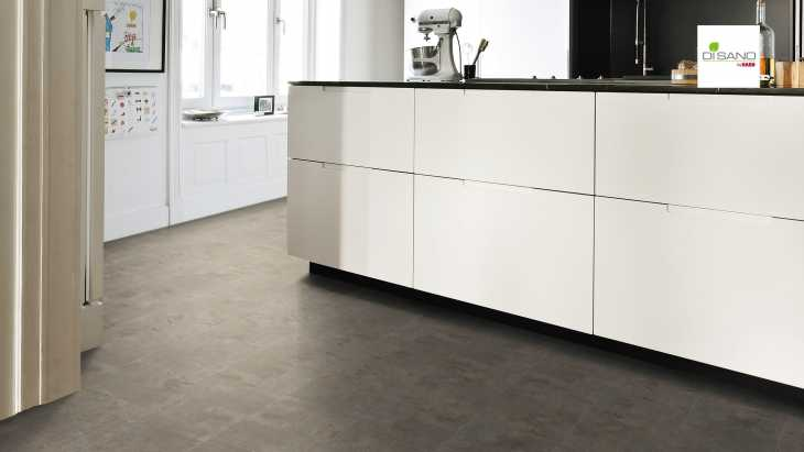 Design grindų danga Haro Disano Classic Aqua Piazza Industrial Grey