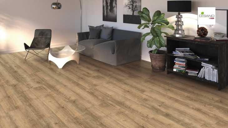 Design grindų danga Haro Disano Life Aqua Ąžuolas Yorkshire Puro