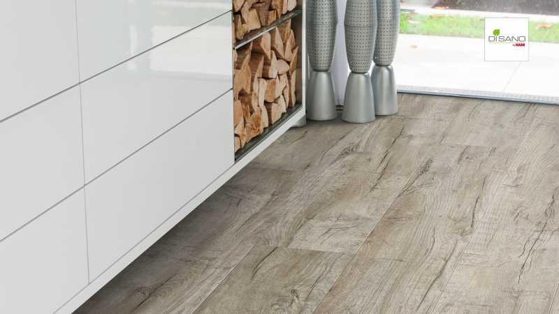 Design grindų danga Haro Disano Life Aqua Ąžuolas Cardiff White