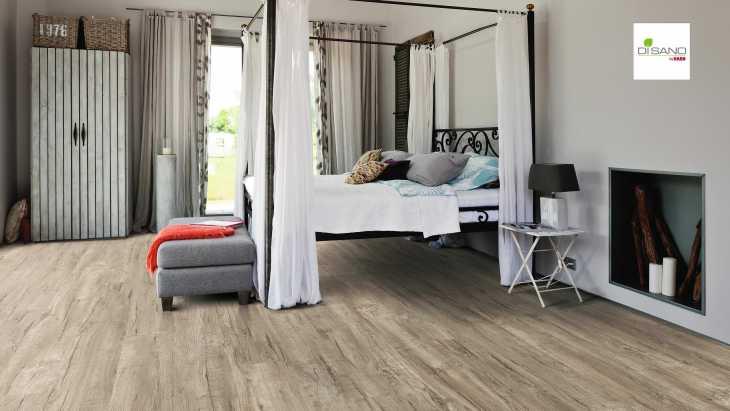 Design grindų danga Haro Disano Life Aqua Ąžuolas Cardiff Grey