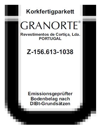 Žyma suteikta Granorte grindų dangoms už itin mažą emisiją.