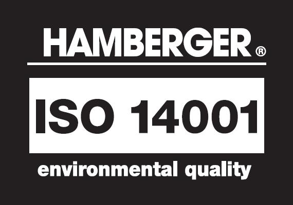 ISO 140001 – aplinkosaugos vadybos sistema, užtikrinanti, kad gamykla neteršia aplinkos.