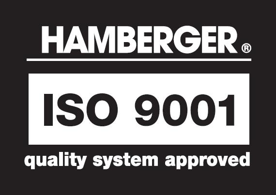 ISO 9001:2008 kokybės valdymo sistema užtikrinanti ilgailaikę bei aukštą gaminių kokybę.