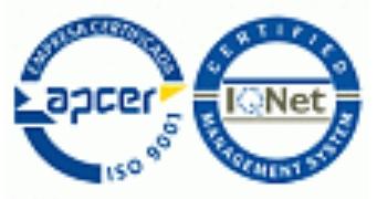 Kokybės valdymo sistema sertifikuota pagal ISO 9001.