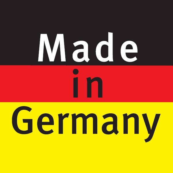 """Pagaminta Vokietijoje – Visi Haro gaminiai pagaminti Vokietijoje naudojant vokišką tvarką, preciziką bei išdidžiai nešioja """"Made in Germany"""" ženklą."""